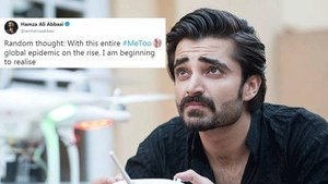 Hamza Ali Abbasi's 'random thoughts' on sexual harassment are more random than expected