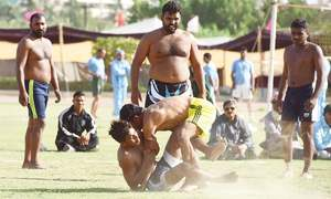 Sehrish sets record but Karachi's athletes made to suffer