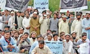 Waziristan traders call off protest in Islamabad after negotiations with DG ISPR