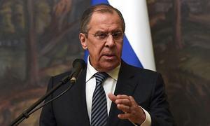 US 'bombed' UN peace talks on Syria: Lavrov