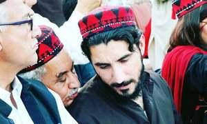 لاہور میں پی ٹی ایم کی ریلی،منظور پشتین کا12مئی کو کراچی میں جلسے کا اعلان