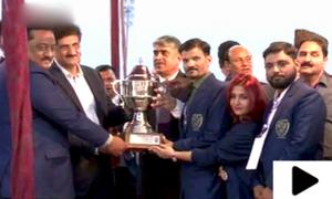سندھ گیمز میں کراچی فتح یاب