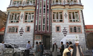 'Nobody will vote': attack on Afghan election centre in Kabul leaves 57 dead
