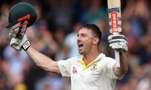 Marsh also hits ton on debut