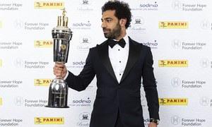 Egypt's Mohamed Salah voted best footballer in England by his peers