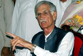 Pervez Khattak granted bail by ATC in 2014 sit-in case