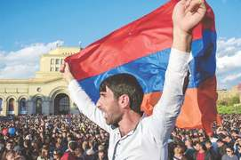 Armenian PM bows out, admits 'I was wrong'