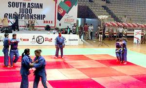 Pakistan finish second in Asian judo event