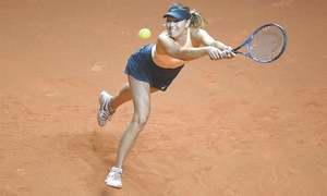 Sharapova eyes more grand slam glory