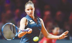 Garcia triumphs in Stuttgart opener