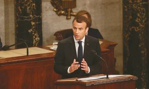 France's Macron steps up his bid to save the Iran deal