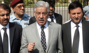 Khawaja Asif disqualified under Article 62(1)(f), IHC rules 'with a heavy heart'