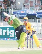 Kamran stars with century as FA rout KP