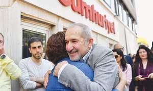 Facing jail, Turkey's Cumhuriyet newspaper vows to keep working