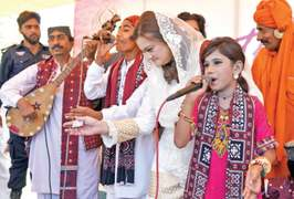 Students feel the heat as Lok Virsa mela begins