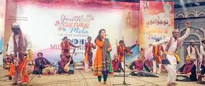 Sindhi music, art celebrated on second day of cultural mela