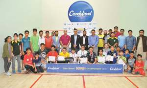 Naveed lifts inter-school squash crown
