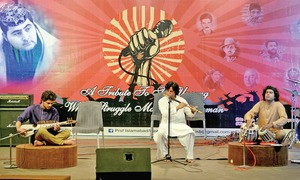 Lok Virsa celebrates Labour Day with musical evening