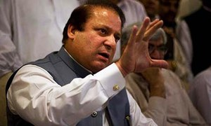 Nawaz breaks his silence on Zardari's 'allegations'