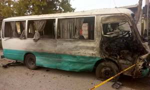 2 killed, 14 injured in attack on bus in Attock