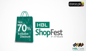 HBL and Daraz bring up to 70% discounts in a two-day mega sale event