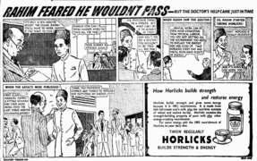 Horlicks: to be taller, stronger & sharper
