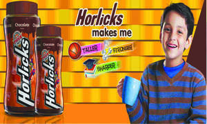 Horlicks: to be taller, stronger & sharper