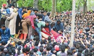 Professor among 10 killed by Indian troops in held Kashmir