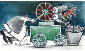'قابلِ رحم حالت سے گزرتی پاکستانی سیاست'