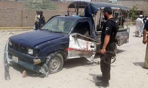 One policeman martyred in IED blast near police van in Bannu