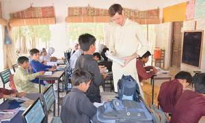 Angrez ka school in Khairpur