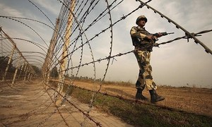 3 children among 4 civilians killed by Indian firing across Working Boundary: ISPR