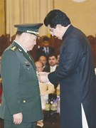 Nishan-i-Imtiaz conferred on China's top military official