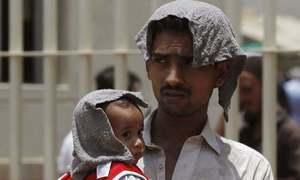 کراچی میں پارہ 44 ڈگری، 23 مئی تک گرمی کا زور برقرار رہنے کا امکان