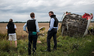 Dutch, Australia say Russia responsible for downing MH17 with 298 people on board