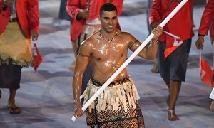 World needs youth who become superheroes, says Tongan Olympian