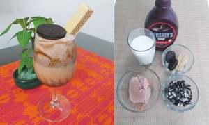 Cook-it-yourself: Oreo ice cream shake
