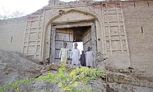 Harand Fort's restoration with Rs90m on the cards