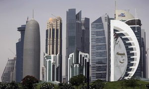 A year into boycott, few signs of crisis in Qatar