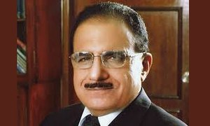 ECP chooses former SC judge Dost Muhammad Khan to be KP CM