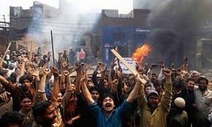 خانیوال: چوری کے الزام پر کلہاڑیوں کے وار سے نوجوان کا قتل