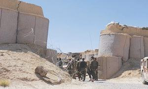 Days after Taliban assault in western Afghanistan, allegations of an Iranian role