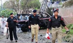 IED blast targeting police van on patrol kills 3 in Lower Dir