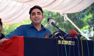 Bilawal Bhutto, Mustafa Kamal submit nomination forms to contest polls from Karachi