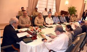 قومی سلامتی کمیٹی اجلاس، ایف اے ٹی ایف کیلئے اقدامات پر اظہار اطمینان