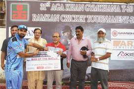 Rameez, Haseeb guide Omar Colts to easy win
