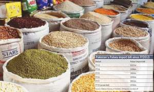 Saving forex by lowering import of pulses