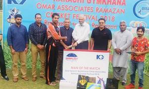 Afzal propels Agha Steel into KG Ramazan Cricket Festival semi-finals