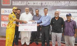 Khushdil stars as Agha Steel reach AKG final