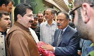 Sanjrani urges caretaker govts' role in fair polls
